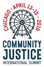Community Justice International Summit 2016 in Chicago (Free)