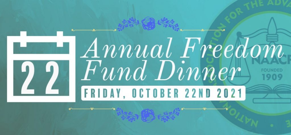 Save the Date for this year's Annual Freedom Fund Dinner